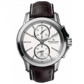 Horlogeband Maurice Lacroix PT7538 PT7538/48 AO42470 / 219987 (ML800-000211) Leder Bruin 21mm