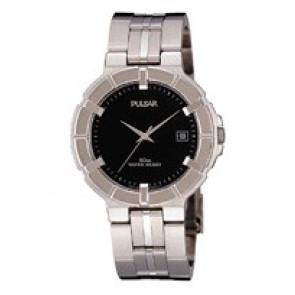 Horlogeband Pulsar V732-0330 / PXE097P1 Staal 8mm