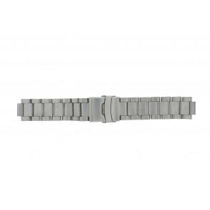 Horlogeband Q&Q QQ13ST-ZI-ST Staal 13mm