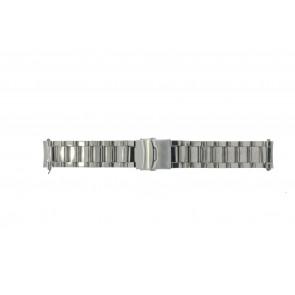 Horlogeband Universeel QQ22RHSHI Staal 22mm