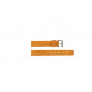Rolf Cremer horlogeband Spirale II Orange Leder Oranje 16mm