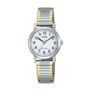 Horlogeband Lorus V501-X471-RRS79VX9 Staal Bi-Color