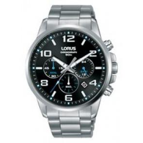 Horlogeband Lorus VD53-X317-RT391GX9 Staal Staal