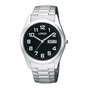 Horlogeband Lorus VX43-X015 / RXN13CX9 / RQ406X Staal 20mm