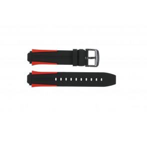 Horlogeband Tissot T111.417.27.441.00 / T603040970 Silicoon Multicolor 18mm