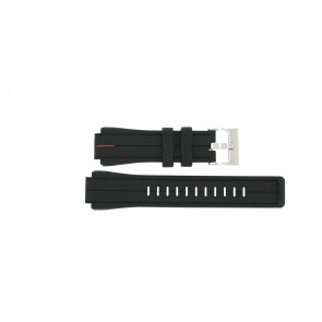Timex horlogeband T2N720 Silicoon Zwart 22mm