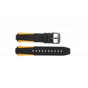 Horlogeband Tissot T111.417.37.441.04 / T603042127 Silicoon Multicolor 18mm