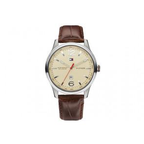 Horlogeband Tommy Hilfiger TH-151-1-14-1074 / TH1710282 / TH679301444 Leder Bruin 22mm