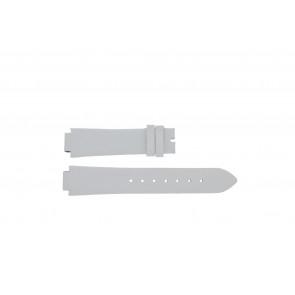 Breil horlogeband F660013402-TW0610 Leder Wit 17mm