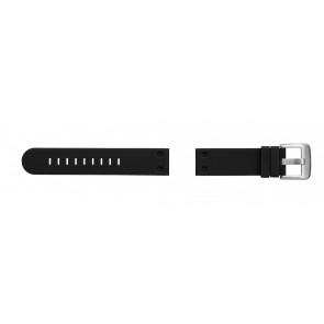 TW Steel horlogeband TW581 Rubber Zwart 24mm