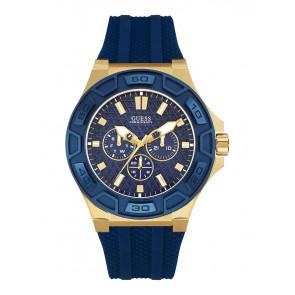 Horlogeband Guess W0674G2 / W0674G4 / W0149L5 Rubber Blauw 19mm