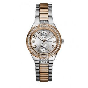 Horlogeband Guess W15065l2 Staal Bi-Color