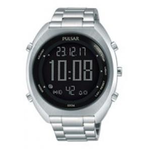 Horlogeband Pulsar W866-X005-P5A015X1 Staal