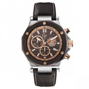 Horlogeband Guess X72018G4S / 79007G2S Leder Bruin