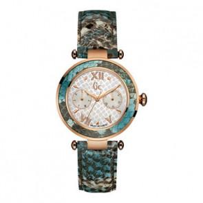 Guess horlogeband Y09002L1 Leder Multicolor + standaard stiksel