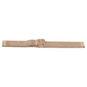 Horlogeband Universeel YF101 Staal Rosé 18mm