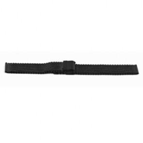 Horlogeband YF13 Staal Zwart 18mm