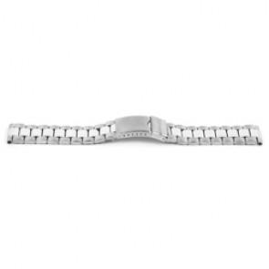Horlogeband YI09 Staal Zilver 24mm