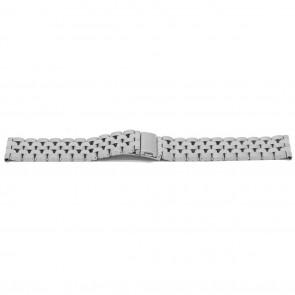 Horlogeband YJ27 Staal Zilver 26mm