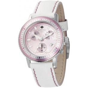 Horlogeband Zodiac ZO2810 Leder Wit