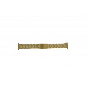 Morellato horlogeband A02U03230250220099 Staal Goud (Doublé) 18mm