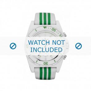 Adidas horlogeband ADH2667 Textiel Groen 24mm