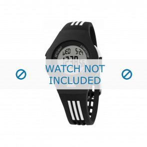 Adidas horlogeband ADP6019 Rubber Zwart
