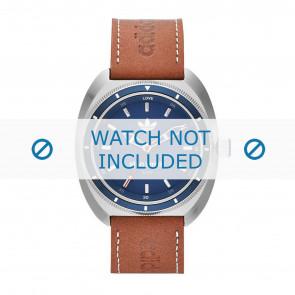 Horlogeband Adidas ADH3006 Leder Bruin 22mm