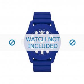 Horlogeband Adidas ADH3103 Rubber Blauw 22mm
