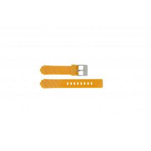 Adidas horlogeband ADH2105 Rubber Oranje 18mm