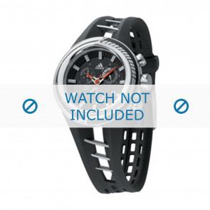 Adidas horlogeband ADP1010 Rubber Zwart