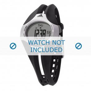 Adidas horlogeband ADP1050 Rubber Zwart