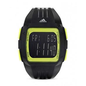 Horlogeband (Band + Kastcombinatie) Adidas adp3168 Kunststof/Plastic Zwart