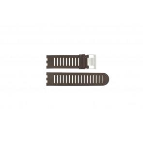 Horlogeband Alessi AL14001 Leder Bruin 25mm
