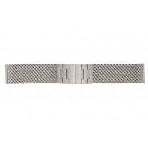 Mondaine horlogeband BM20031 / 12622.ST.2 Staal Zilver 22mm