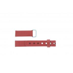 Mondaine horlogeband BM20078 / FE3112.30Q.2 Leder Rood 12mm