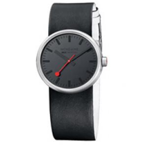 Horlogeband Mondaine BM20109 Leder Multicolor