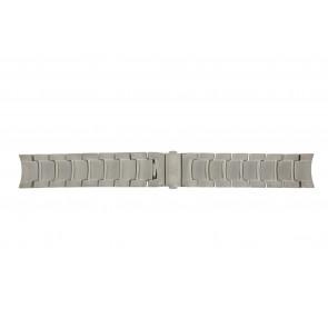 Boccia horlogeband 3776-04 Titanium Zilver 21mm