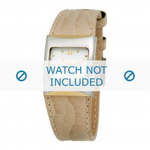 Horlogeband Boccia 3120-03 (BO3120-03-40BG) Leder Beige