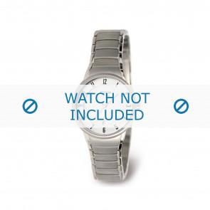 Boccia horlogeband 3158-01 Titanium Zilver 14mm