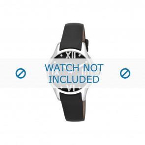 Horlogeband Breil TW0780 / F660013745 Leder Zwart 16mm