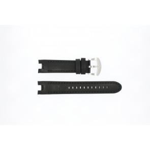 Horlogeband Buddha to Buddha 46mm / BTB.M.D.3H.02 Leder Zwart 21mm