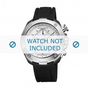 Horlogeband Buddha to Buddha 46mm / BTB.M.R.CH.02 Rubber Zwart 21mm