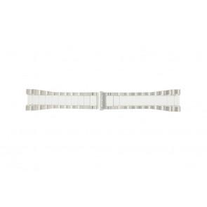 Breil horlogeband BW0224 Staal Wit 27mm