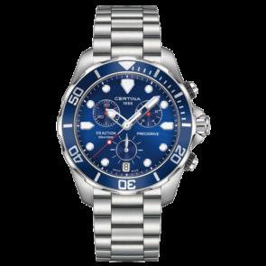 Horlogeband Certina C605019661 / C032.417.11.041.00 Staal 10mm