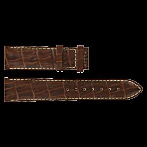 Horlogeband Certina C610007728 / C61040201 / C536.7029.42.69 Leder Bruin 20mm