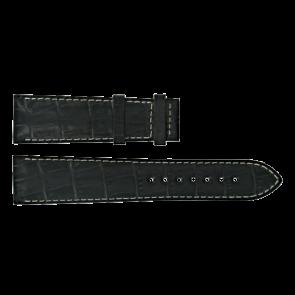 Horlogeband Certina C610014940 Leder Zwart 21mm