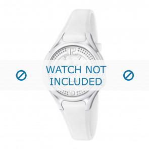 Horlogeband Calypso K5575-1 Rubber Wit 14mm