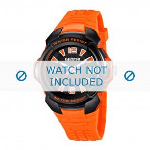 Horlogeband Calypso K5635-2 Rubber Oranje 20mm