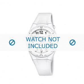 Calypso horlogeband K6064-1 Rubber Wit